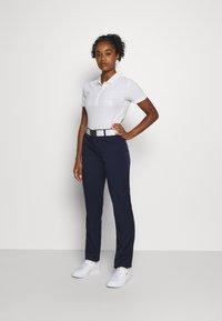 Lacoste Sport - GOLF PANT - Spodnie materiałowe - navy blue - 1