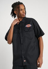 Dickies - CLINTONDALE - Camicia - black - 0