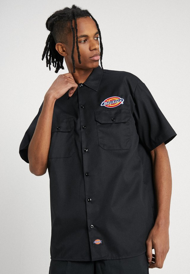 CLINTONDALE - Camisa - black