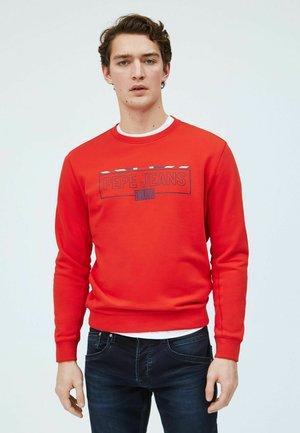Sweatshirt - mars rot