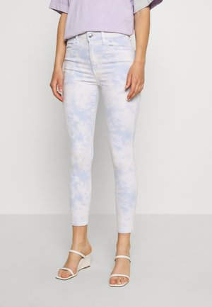 SUPER HIGH RISE CROP - Jeans Skinny Fit - washed blue
