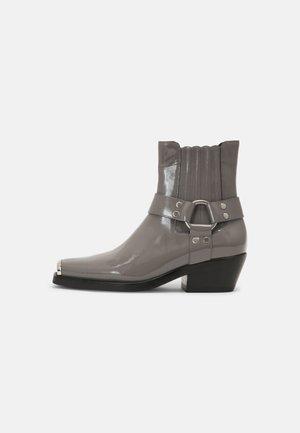 POKER - Støvletter - dark grey