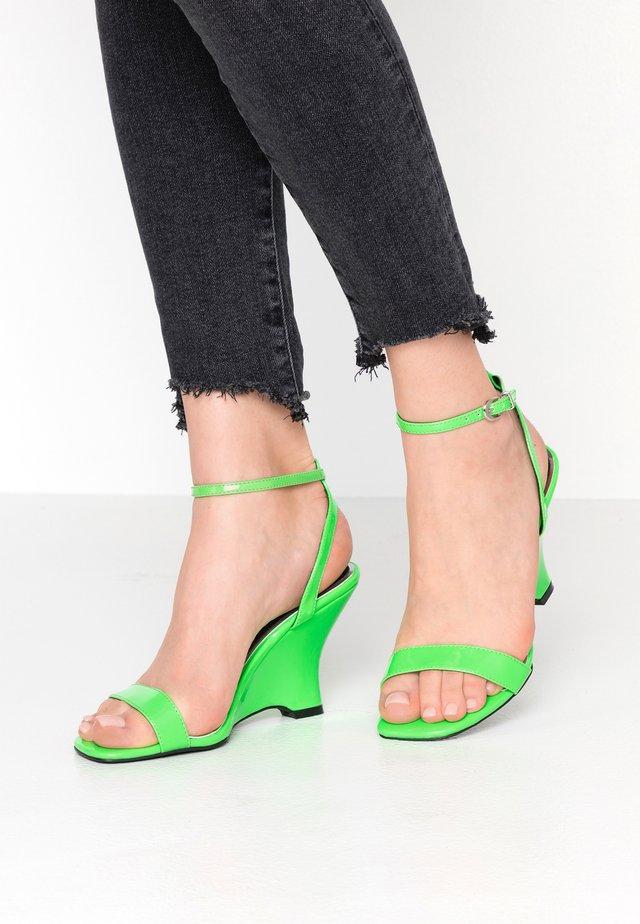 MOL - Sandales à talons hauts - green