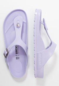 Birkenstock - GIZEH - Sandalias de dedo - purple fog - 3