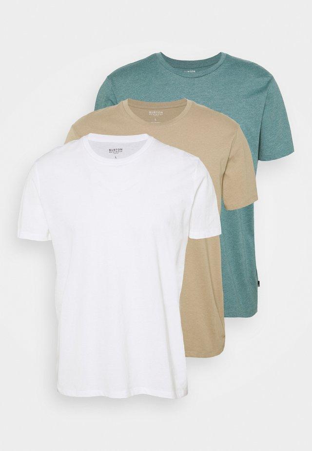 3 PACK - Basic T-shirt - multi