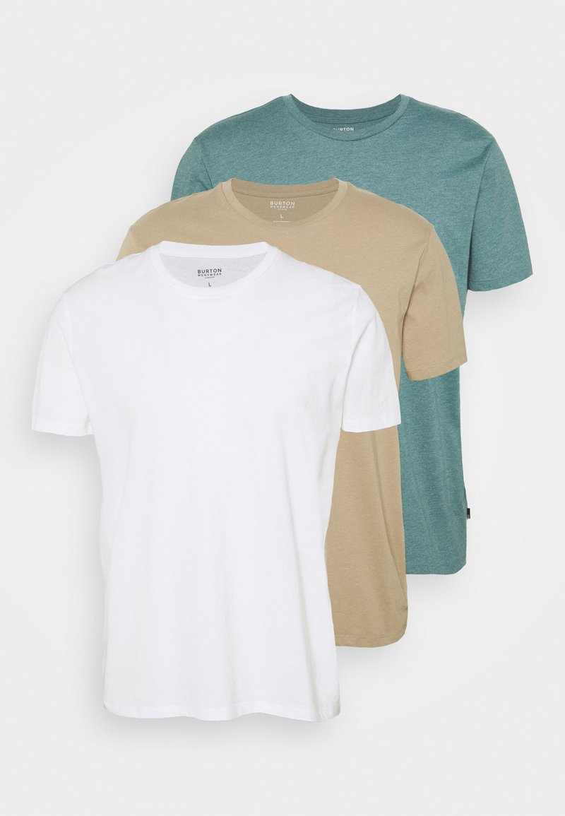 Burton Menswear London - 3 PACK - T-shirt basic - multi