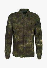 Tigha - TIE-DYE HAKU - Shirt - vintage ocean grey - 4