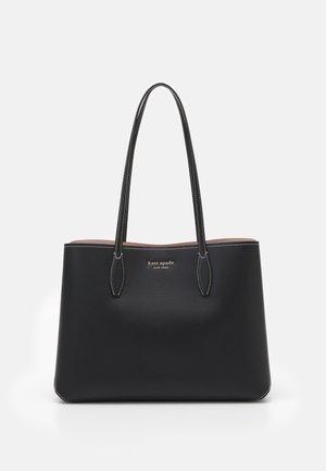 LARGE TOTE - Tote bag - black