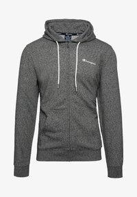 Champion - veste en sweat zippée - grey - 0