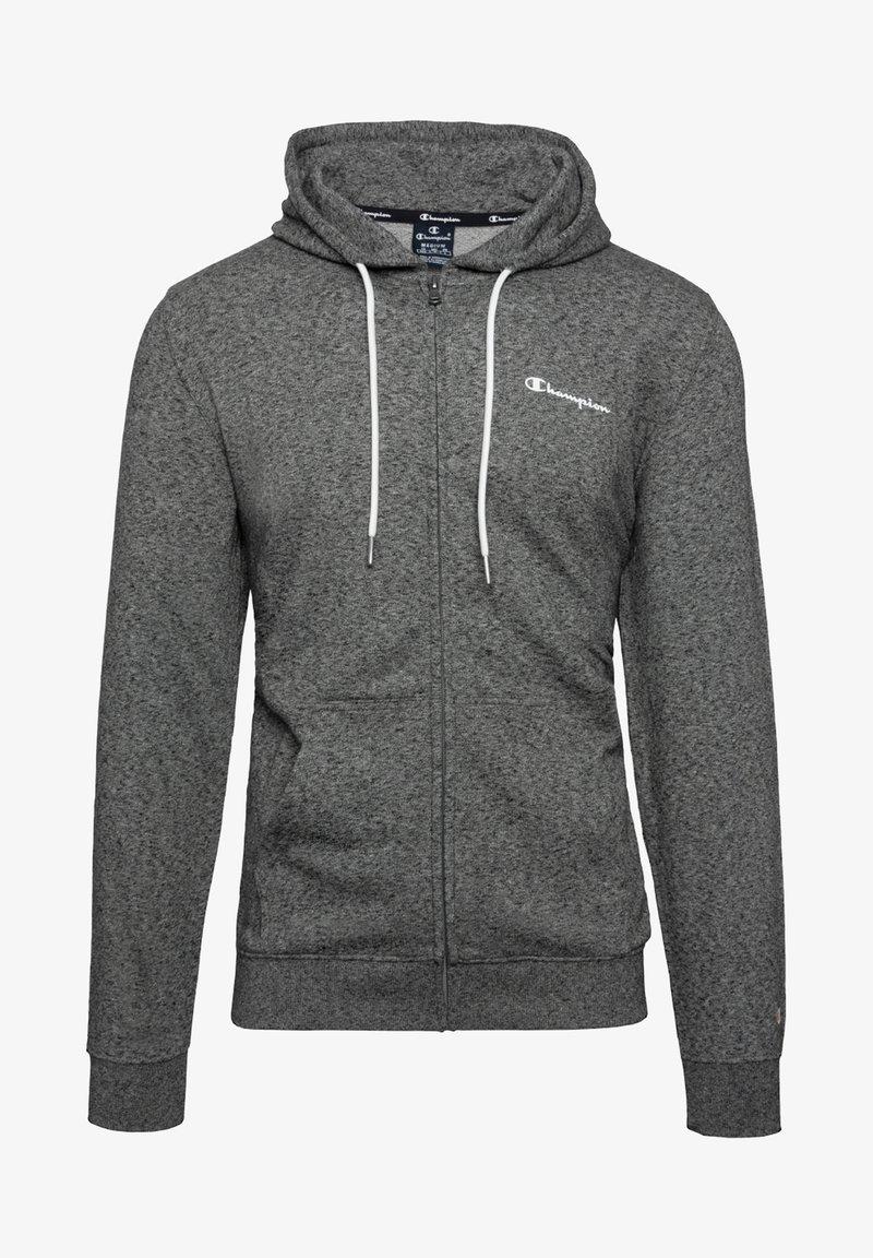 Champion - veste en sweat zippée - grey