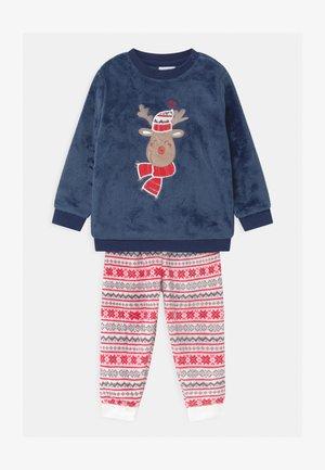 PRINT APPLIQUE - Pyžamová sada - ensign blue