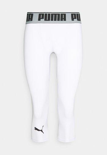 BBALL COMPRESSION - 3/4 sportovní kalhoty - puma white