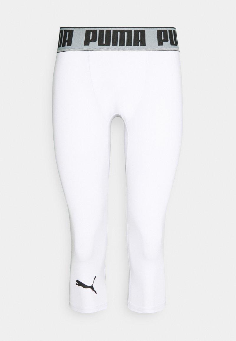 Puma - BBALL COMPRESSION - 3/4 sports trousers - puma white