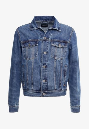 CLASSIC MENS JACKET - Denim jacket - blue denim