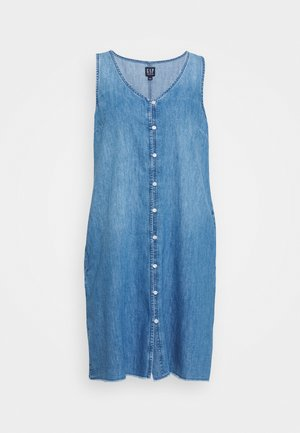 TANK DRESS - Vestito estivo - medium wash