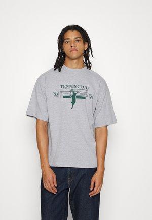 RACKET UNISEX  - T-shirt print - grey marl