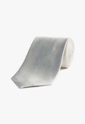 Tie - wool white