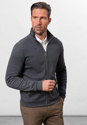 Zip-up sweatshirt - anthra
