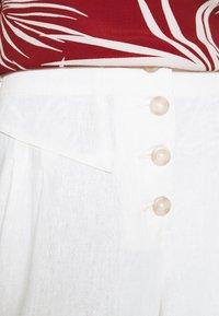 Dorothy Perkins Petite - CULOTTE - Trousers - cream - 5