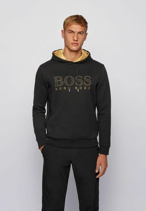SOODY - Sweat à capuche - black