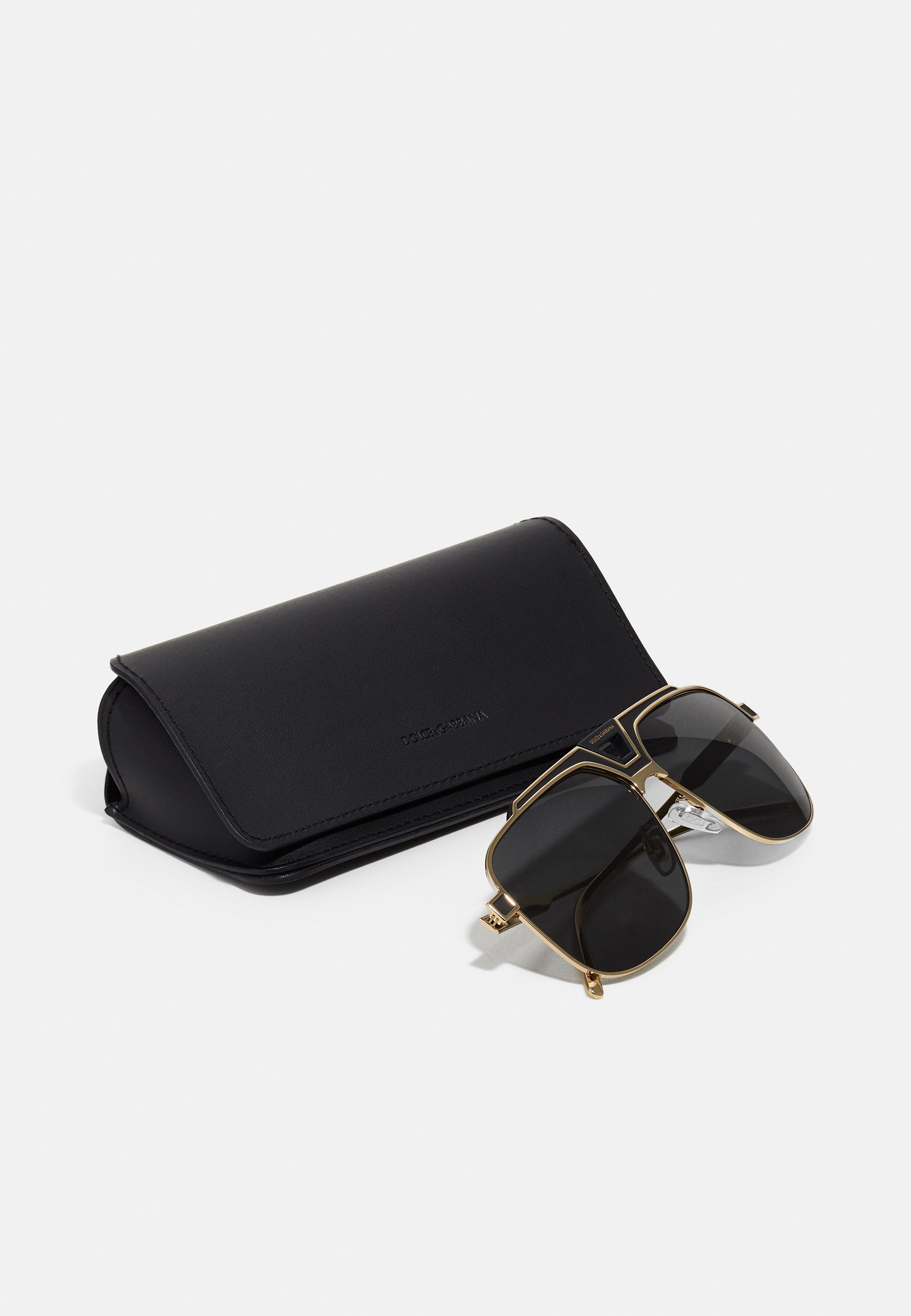 DolceGabbana Sonnenbrille - gold-coloured/black matte/gold - Herrenaccessoires kDooy