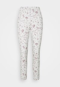 Women Secret - LONG SLEEVES LONG PANT SET - Pyjama - ox blood - 3