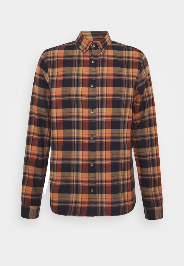CHECKED - Shirt - orange