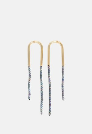 META EARRING - Halskette - gold-coloured