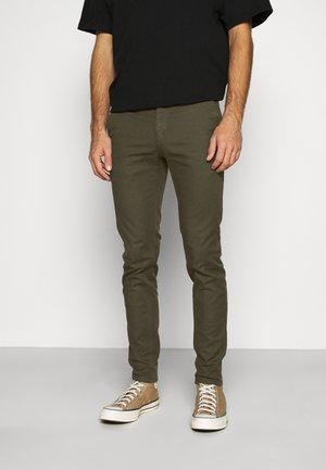 MOTT  - Chino kalhoty - army