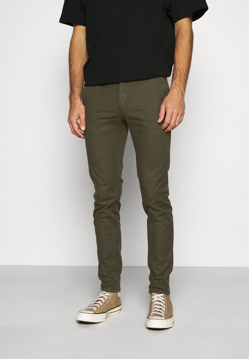 Scotch & Soda - MOTT CLASSIC GARMENT - Chino - army