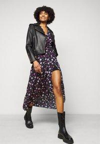 The Kooples - DRESS - Day dress - black/pink - 4