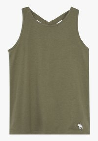 Abercrombie & Fitch - TANK  - Top - olive - 0