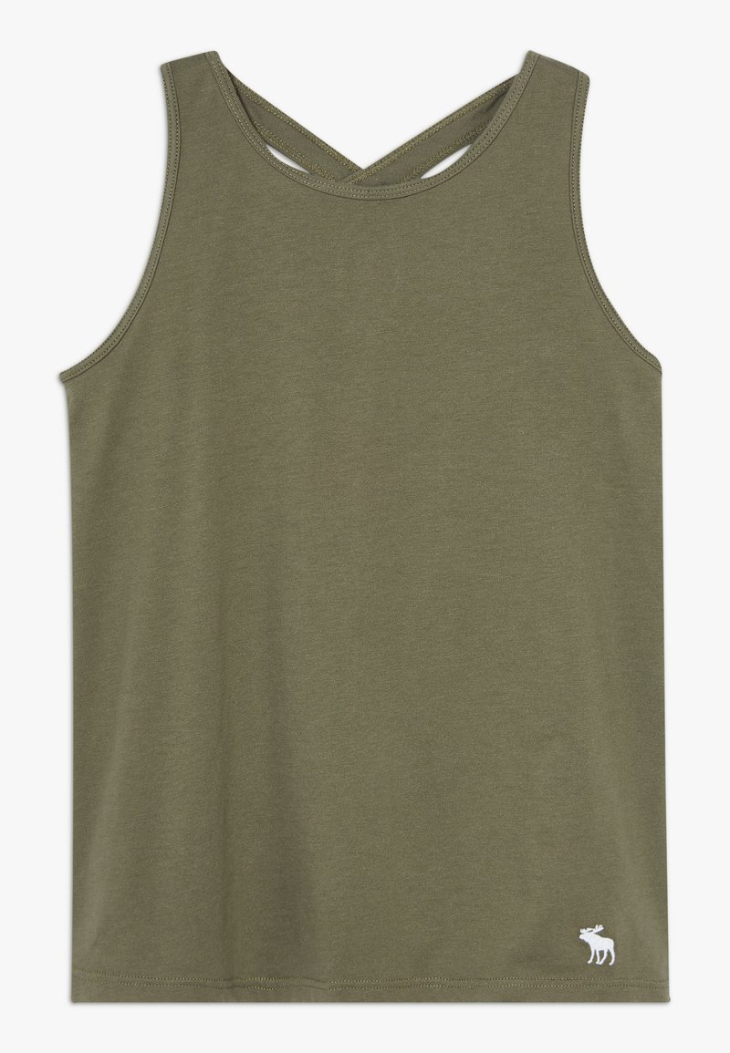 Abercrombie & Fitch - TANK  - Top - olive