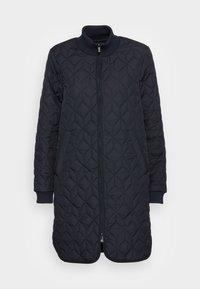Ilse Jacobsen - PADDED QUILT COAT - Classic coat - dark indigo - 3