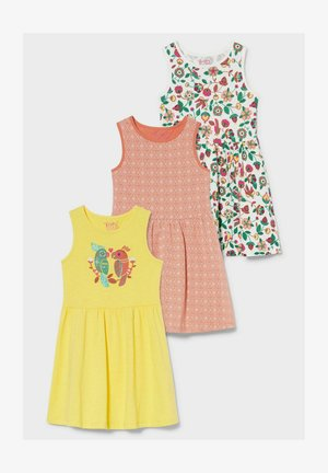 3 PACK - Jersey dress - multicoloured