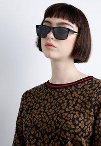 Puma - Sunglasses - black/yellow - 2