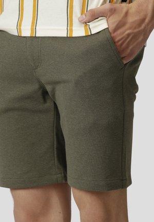 MILANO JERSEY SHORTS - Shorts - dusty green mel