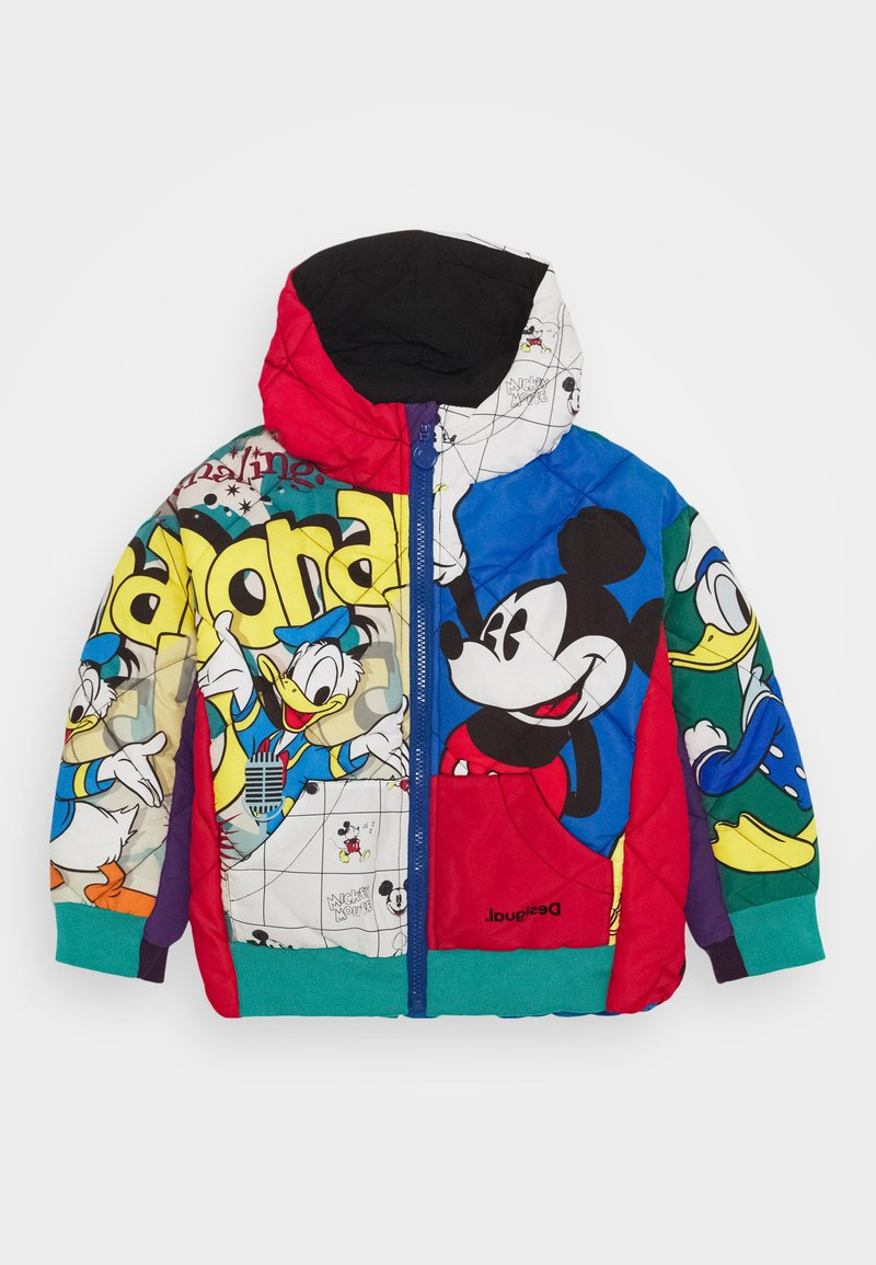 Desigual - DISNEY MICKEY MOUSE UNISEX - Winter jacket - red