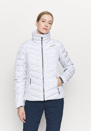 TALMA LADY JACKET - Kurtka narciarska - light grey/white