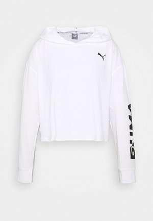 MODERN SPORTS LIGHTWEIGHT HOODIE - Sports shirt - white