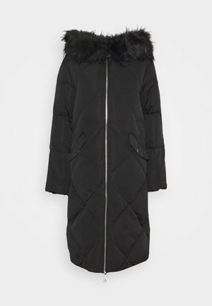 SVEVA LONG JACKET - Piumino - jet black