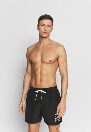 MEDIUM DRAWSTRING - Swimming shorts - black