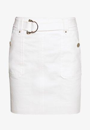 JAFARI - Minifalda - off white