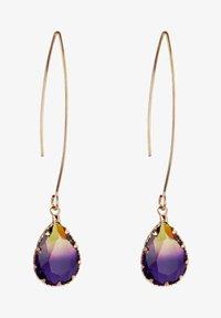 CHIC by Lirette - Earrings - paars geel - 2