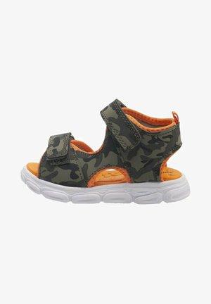 Chodecké sandály - khaki