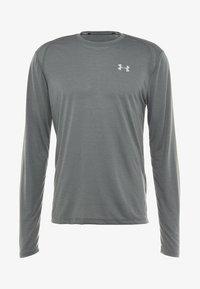 Under Armour - STREAKER LONGSLEEVE - Sports shirt - pitch gray/reflective - 5