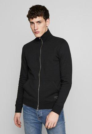 JANNES - Zip-up hoodie - black