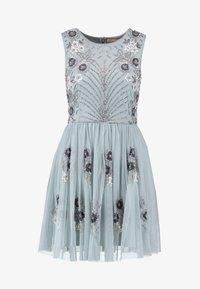 Lace & Beads Petite - NARA SKATER - Koktejlové šaty/ šaty na párty - teal - 4