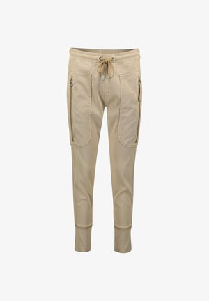 FUTURE RELAXED SLIM FIT - Tracksuit bottoms - sand