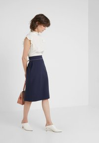 HUGO - RINDIA - A-line skirt - open blue - 1